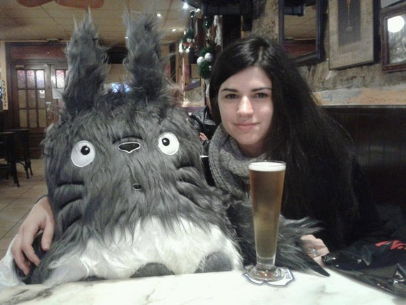 ENORMOUS TOTORO soft toy