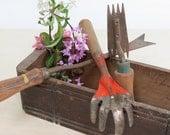 Set of Three Garden Tools