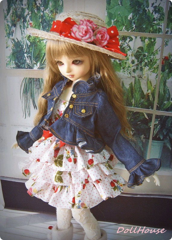MSD / Lovely Strawberry Dress