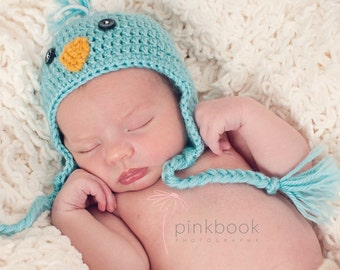 Newborn/Toddler Baby Bird Hat/Baby Photo Prop