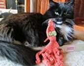 Octopus Crochet Interactive Cat Toy Under 10 Dollars
