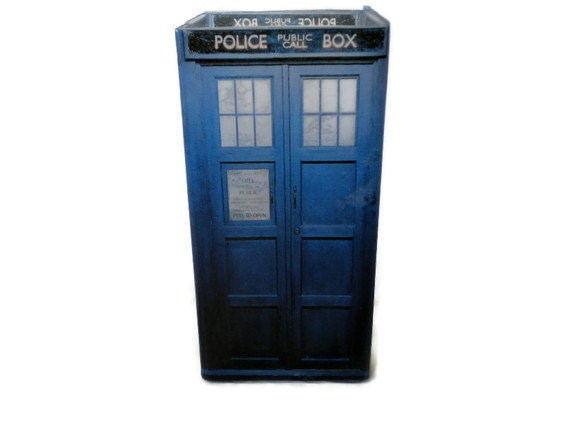 Doctor Who Tardis Candle Holder Geeky Home Decor