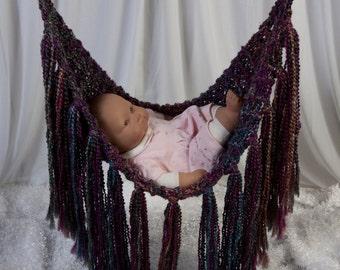 Knit Fringe Hammock Photography prop
