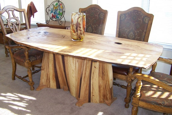 Serpentine Dining Table
