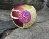 Yellow and Purple Apple Cozy