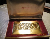 1950's Elgin American Magic Action Lite O-Matic Lighter Cigarette Case