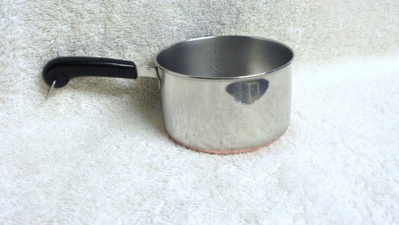 Revere Ware One Cup Measuring Miniature Sauce Pan