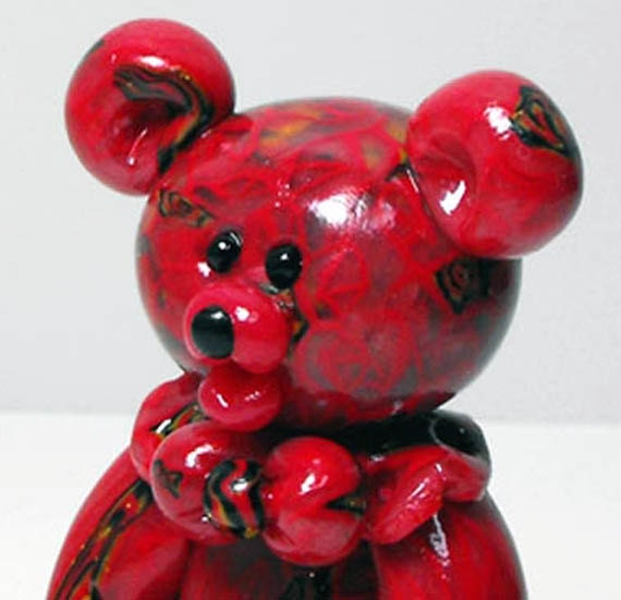 Red Velvet Jelly Belly Bear