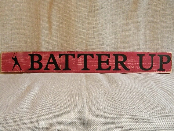 Batter Up - red