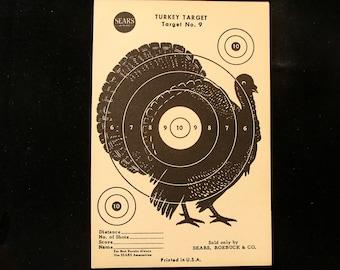 Vintage Turkey Target no. 9 by Sears