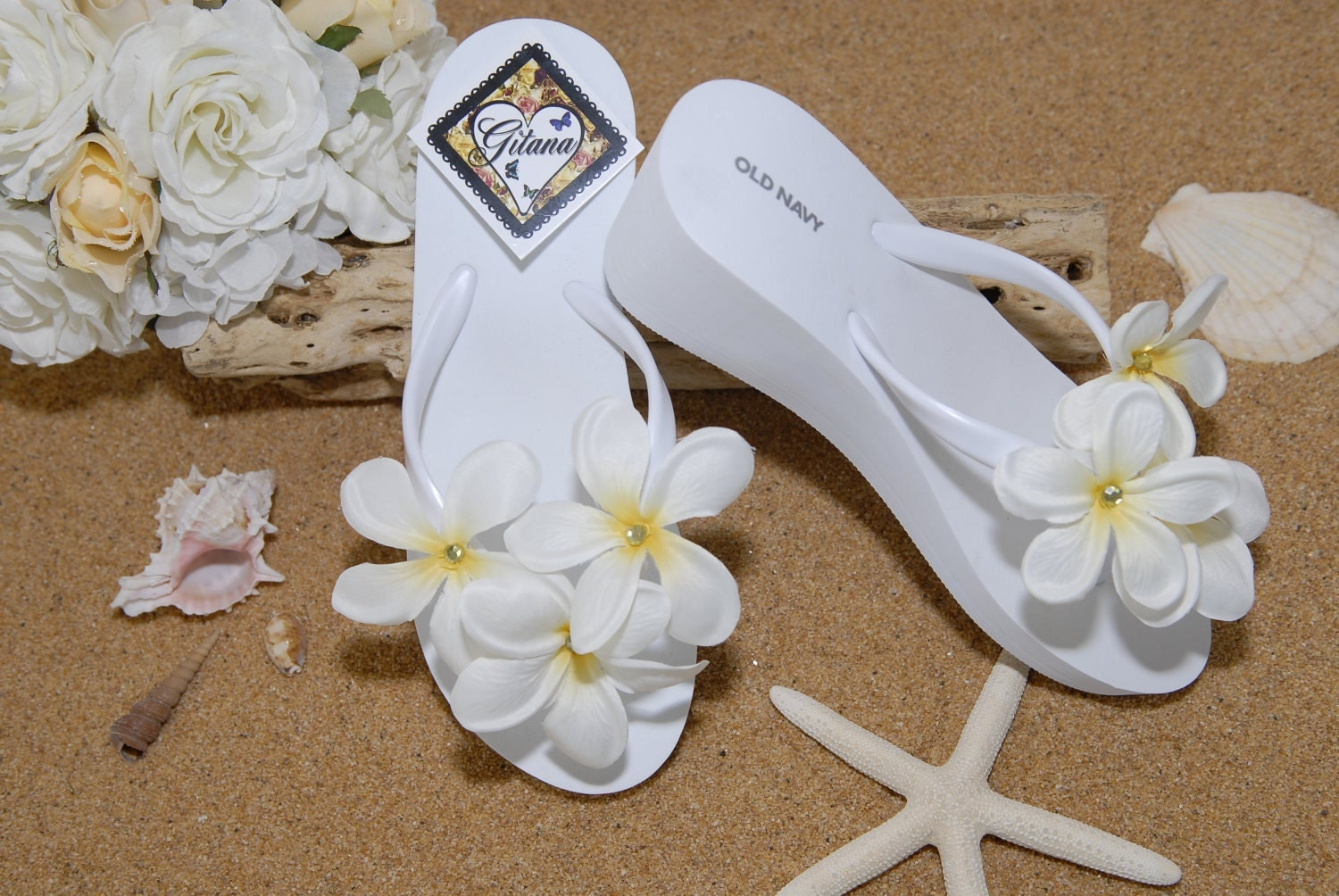 to bridal flip flops bridal sandals beach wedding white flip flops