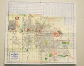Vintage Map of Salt Lake City
