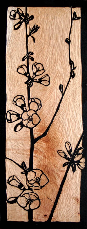 Sculpture sur bloc de bois de cognassier ~ Bloc De Bois A Sculpter