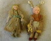 Lot of 2 Vintage Dolls