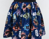 Movie Star Wars Blue Full Skirt-20% OFF