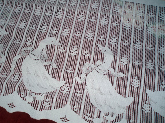 Lace Panel Geese OR Ducks