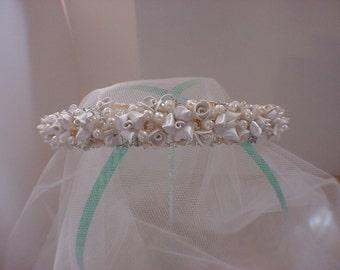 Tiara Headband, Tiara, Bridal Tiara, Wedding Tiara. Accessories, Bridal Accessories, Bridal Head Band, Wedding Accessories, Style Angely