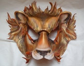 Lannister Lion Game of Thrones Inspired Leather Mask