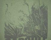 Capsule green punk shirt
