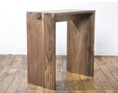 Black Walnut Utility Bench