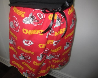 Kansas City Chiefs Sexy Lounging Shorts