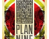 Plan 9 From Outer Space alternative movie poster