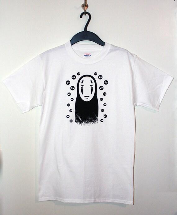 No Face Spirited Away Tshirt - SMALL