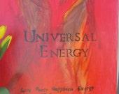 Affirmation Art Universal Energy 16x20