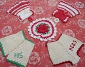 Vintage Crocheted Pot Holders