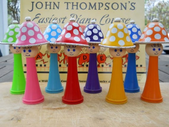 Handbells in the Key of F - Child's Musical Toy