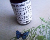 Usnea Lichen Extract - Wild Crafted Hawaiian Healing Herbal Remedy - One Ounce Tincture in 25% Honey Liqueur - Amber Dropper Bottle