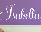 Childrens Vinyl Name Decal - Teen Bedroom Vinyl Wall Art - Nursery Vinyl Lettering - Custom Decal