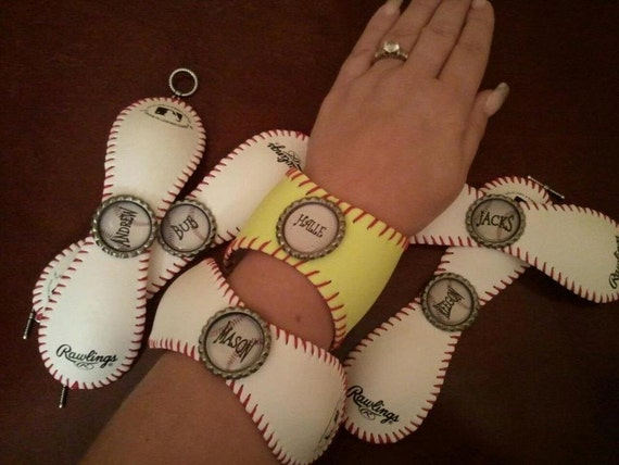 Personalized Baseball/Softball Cuff