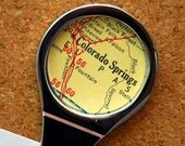 Personalized Map Letter Opener - choose your special city.