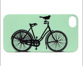 iphone 5 case,bird on bicycle iphone 4 case, iphone 4s case, iphone 4 cover