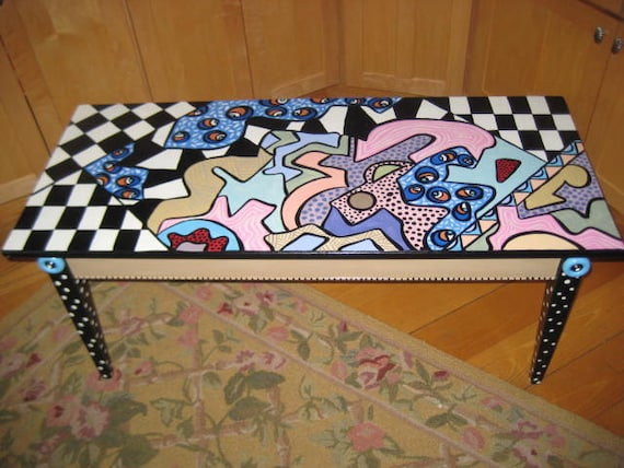 Vintage Large Coffee Table