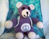 TAKE HIM HOME  Peace the Bear  Listing Expires Today