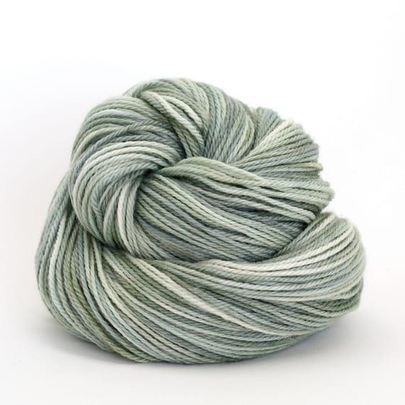 Hand Dyed Polwarth Wool and Silk DK Yarn - Spruce