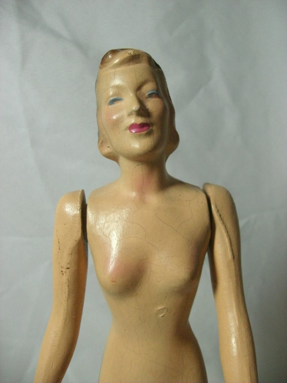 reserved for Noni,  do not purchase  Vintage Junior Miss Butterick Mannequin Manikin