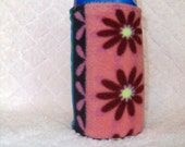 "5"" tall Water Bottle or Sippy Cup Cozy- Ready to ship"
