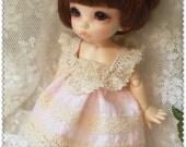 Pink Dress  for Pukifee or Lati Yellow
