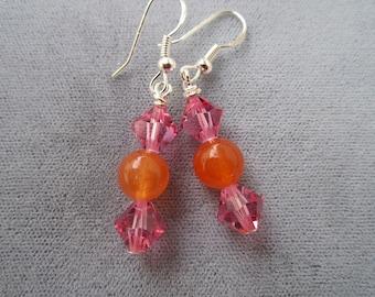 Mod Color Earrings