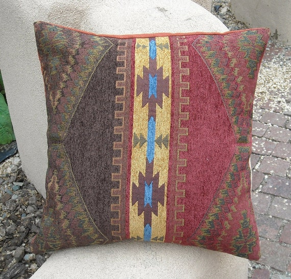 Southwestern Pillow Cover 18 x 18