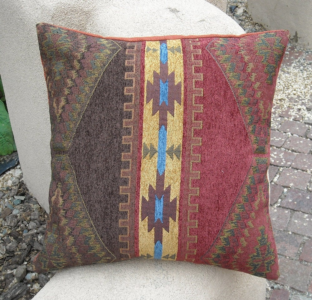 Southwestern Cushion Covers : Southwestern Pillow Cover 18 x 18