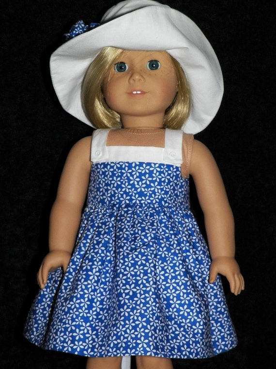 American Girl Doll Sundress and Hat