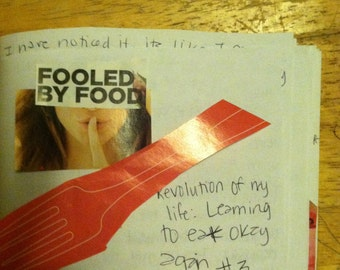 Revolution of my Life: Learning to Eat Okay Again zine perzine recovery zine eating disorder