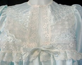 Vintage 1970's Christian Dior Peignoir Nightgown NWT