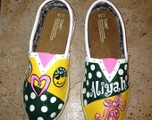 Hand painted TOMS  Made to Order
