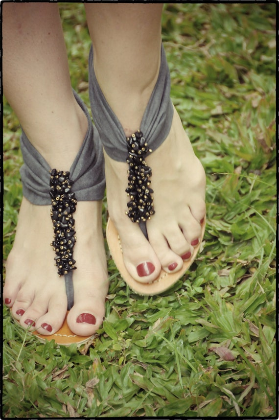 Suede fabric wedges. Grey sandals. Size 37-40