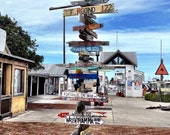 Key West Mileage Sign